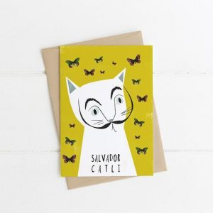 Salvador Catli Greetings Card