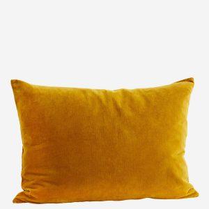Mustard Velvet Cushion