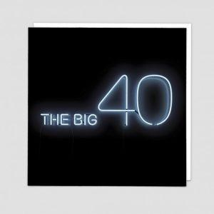 Greetings Card The Big 40