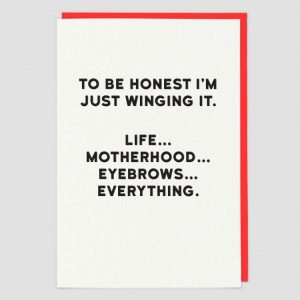 Greetings Card Winging It