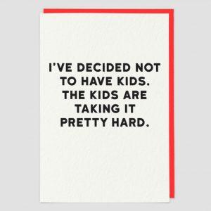 Greetings Card Kids