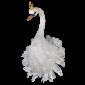 Felicity Swan Head Wall Mount