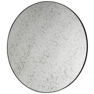 Round Aged Mirror
