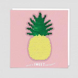 Greetings Card Pineapple