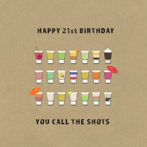 You Call The Shots Greetings Card