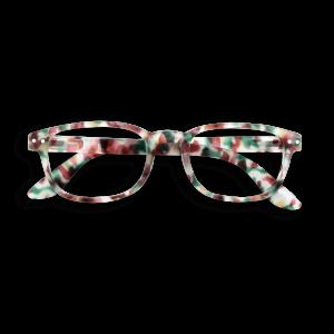 Izipizi #B Reading Glasses(Spectacles)Green Tortoise