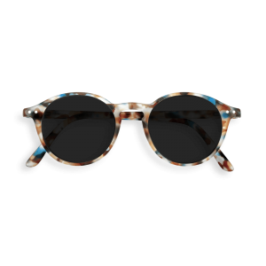 Izipizi #D Reading Sunglasses in Blue Tortoise with Grey Lenses