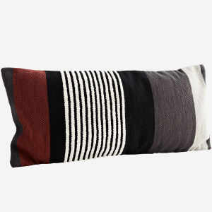 Woven Earthy Stripe Cushion