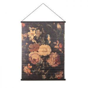Miyagi Flowers Wall Hanging