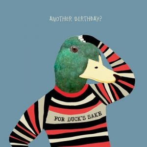 For Duck's Sake Greetings Card