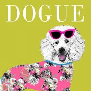 Dogue Greetings Card