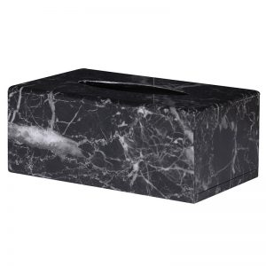 Marble Effect Tissue Box