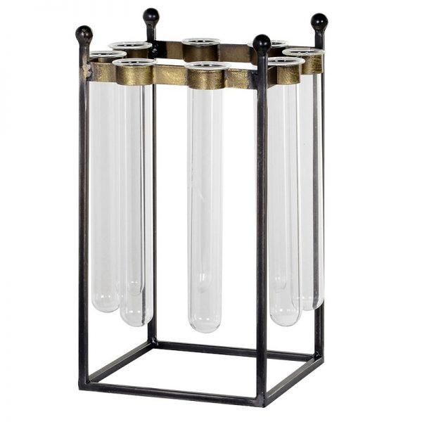 Industrial 8 Test Tube Vase