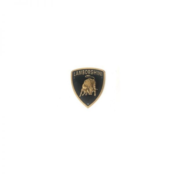 Cast Iron Lamborghini Wall Plaque