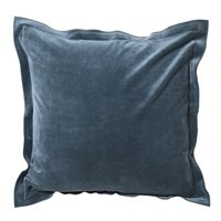 Dusty Blue Velvet Cushion