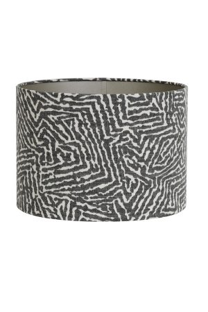 Tribal Black Print Lamp Shade 40cm