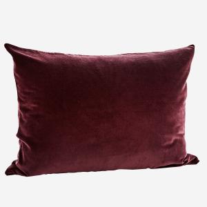 Bordeaux Velvet Cushion