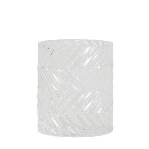 Clear Tealight Holder