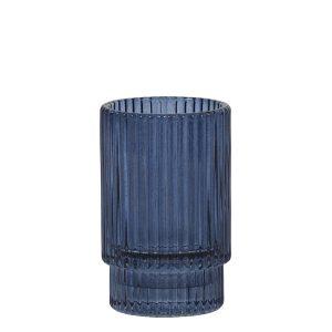 Dark Blue Tea Light Holder