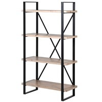 Industrial Iron Shelving Unit