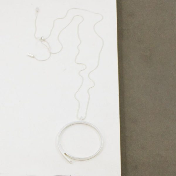 Ring Necklace On Long chain