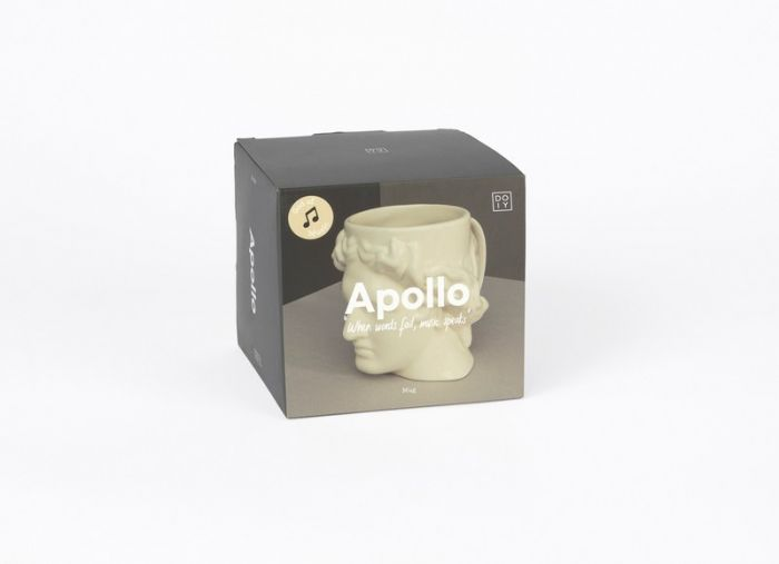 Apollo White Mug