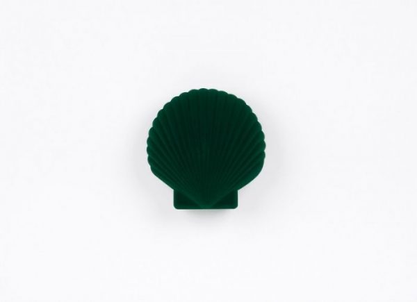 Green Shell Shaped Jewellery Box