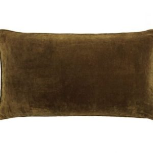 Mustard Long Velvet Cushion