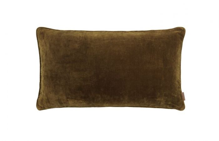 Mustard Long Velvet Cushion