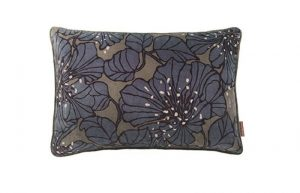 Dahlia Taupe Velvet Cushion