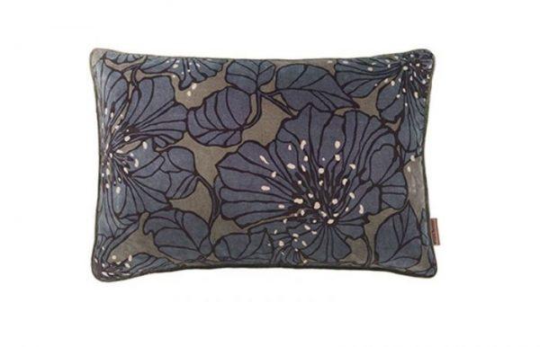 Dahlia Taupe Velvet Cushion