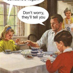 Vegan Greetings Card