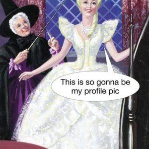 Profile Pic Greetings Card