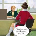 Need Job Greetings Card
