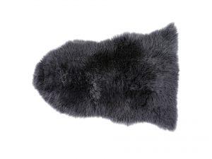 Silky Sheepskin Rug Old Grey Small