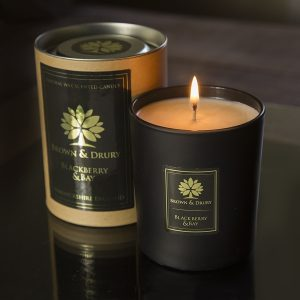 Brown and Drury Blackberry & Bay Scented Candle