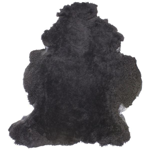 Dark Grey Shearling Sheepskin Rug