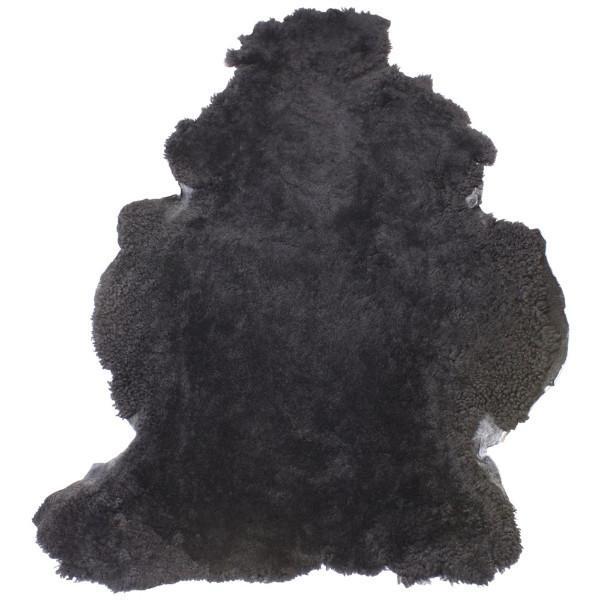 Dark Grey Shearling Sheepskin Rug