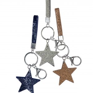 Keychain Starlet with Mini Lanyard