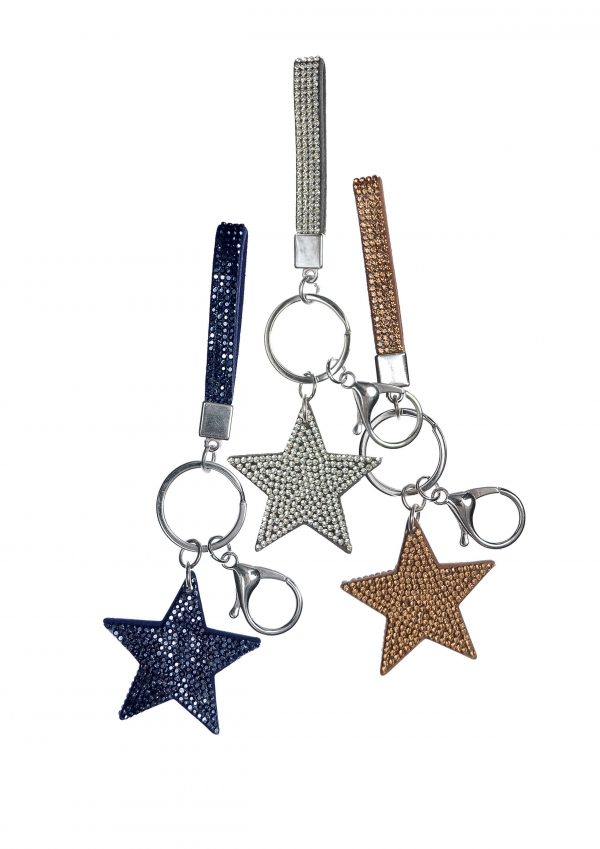 Keychain Starlet with Mini Lanyard