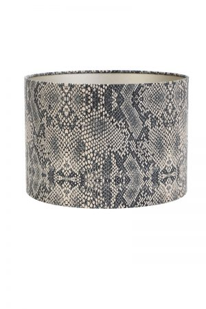 Brown Python Print Lamp Shade