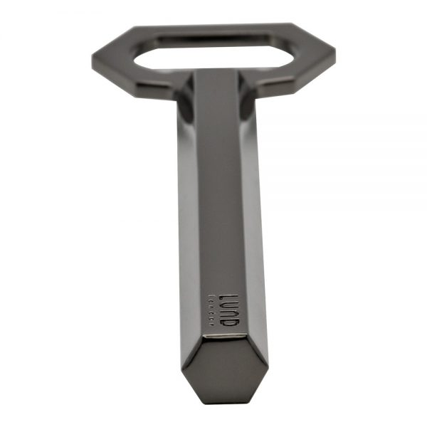 Luxe Gunmetal Bottle Opener
