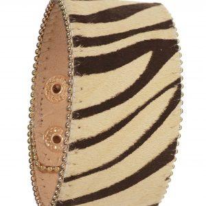 Safari Zebra Print Cuff