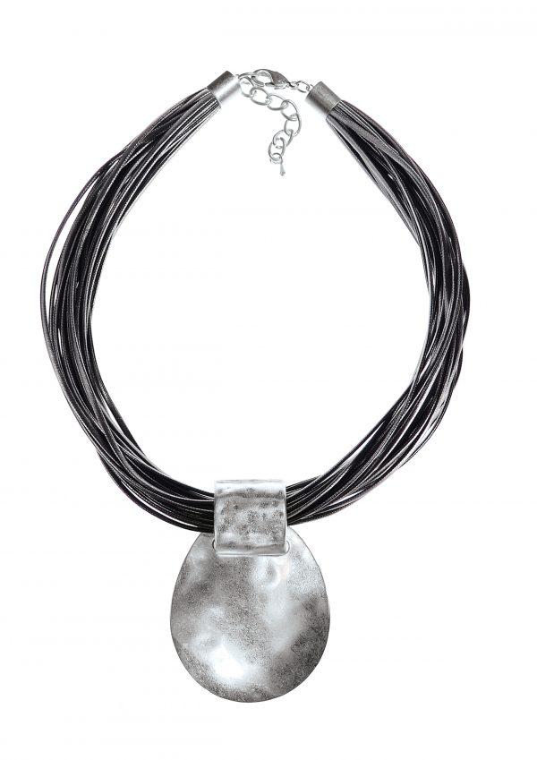 Silver Multi-Rope Chain La Lune Necklace