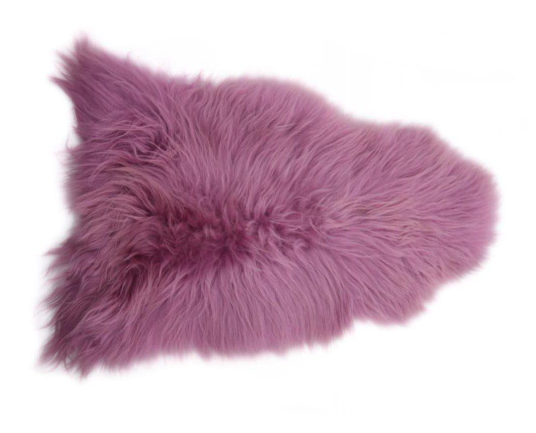 Dusky Pink Icelandic Sheepskin