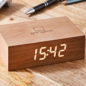Cherry Flip Click Clock