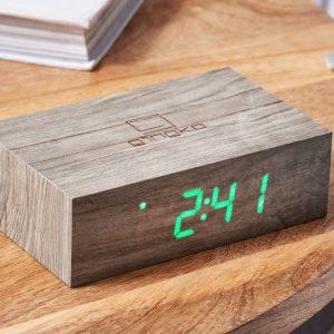 Ash Flip Click Clock