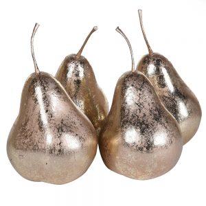 Golden Pear Decoration