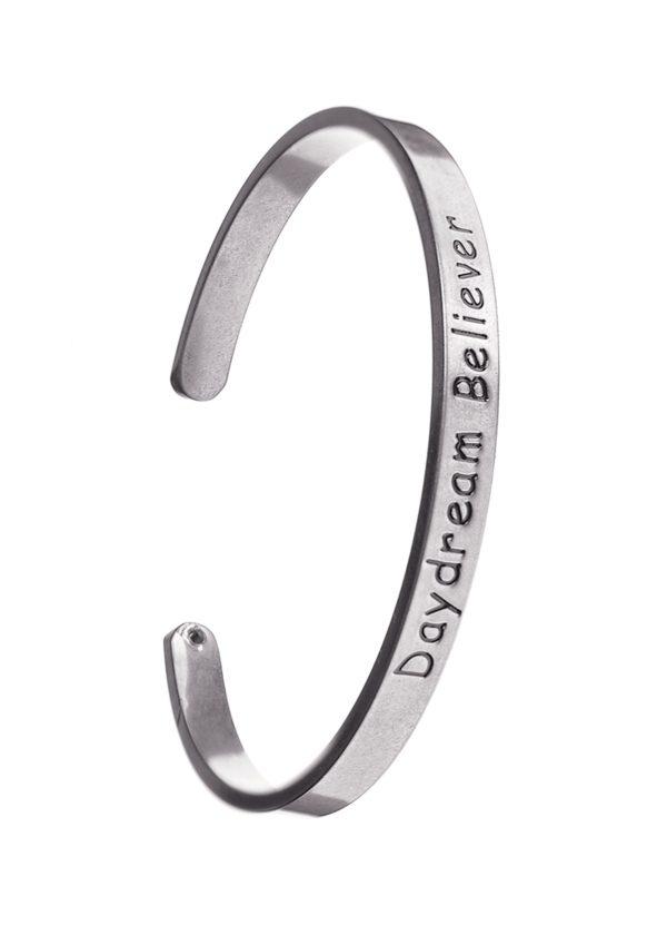 Day Dream Believer Silver Bracelet