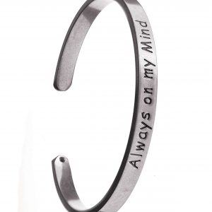 Always On My Mind Silver Bracelet
